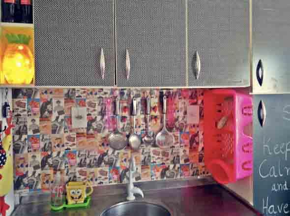 Decorar e renovar a cozinha com papel contact 014