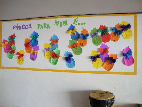 Resultado de imagem para decoração de sala de aula para páscoa