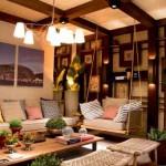 Ambientes decorados com tons de madeira 011