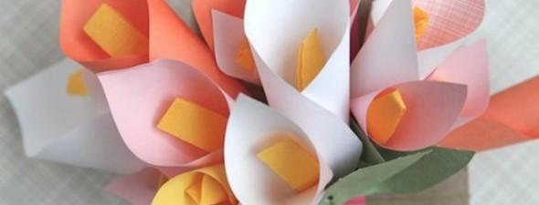 Flores de papel para o Dia das Mães 002