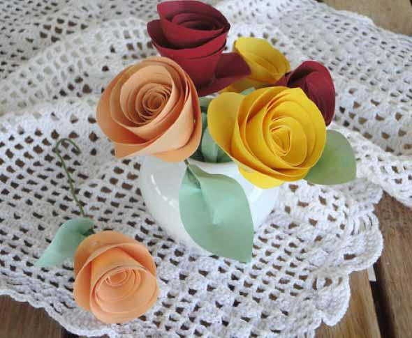Flores de papel para o Dia das Mães 003