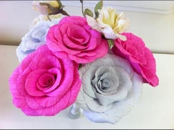 Flores de papel para o Dia das Mães 006