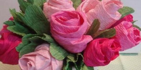 Flores de papel para o Dia das Mães 007