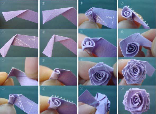 Tutoriais Videos E Fotos De Flores De Papel Para O Dia Das Mães