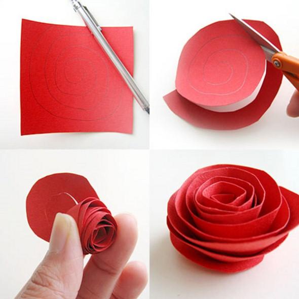 Flores de papel para o Dia das Mães 012