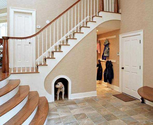 Ideias para aproveitar o vão da escada 005