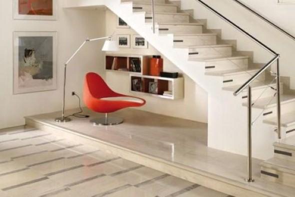 Ideias para aproveitar o vão da escada 014