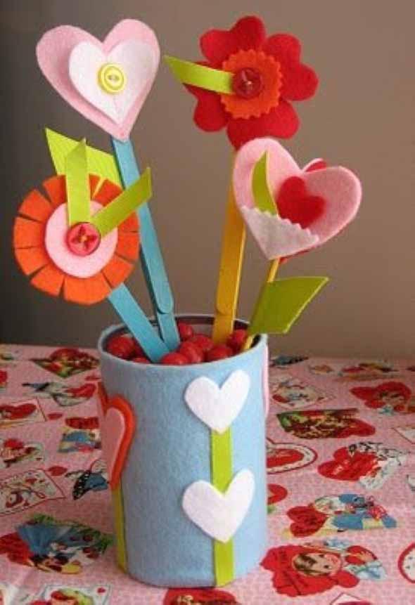 Vasos decorados para o Dia das Mães 004