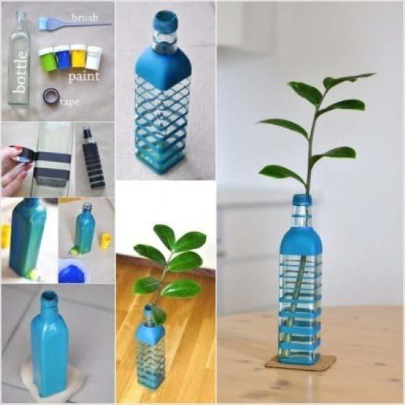Vasos decorados para o Dia das Mães 007