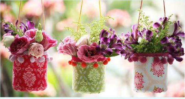 Vasos decorados para o Dia das Mães 009