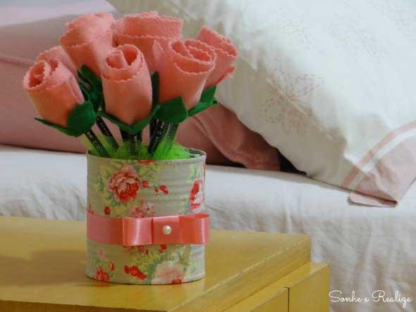 Vasos decorados para o Dia das Mães 012