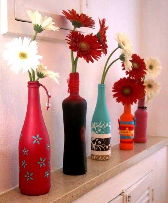 Vasos decorados para o Dia das Mães 015