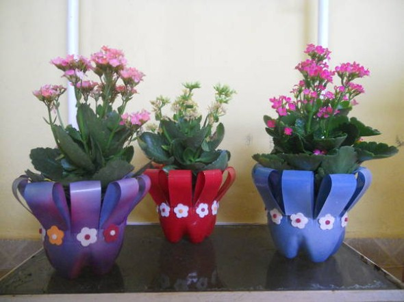 Vasos decorados para o Dia das Mães 016