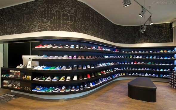 Como decorar loja de calçado 005