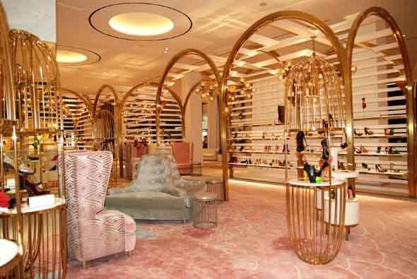 Como decorar loja de calçado 006