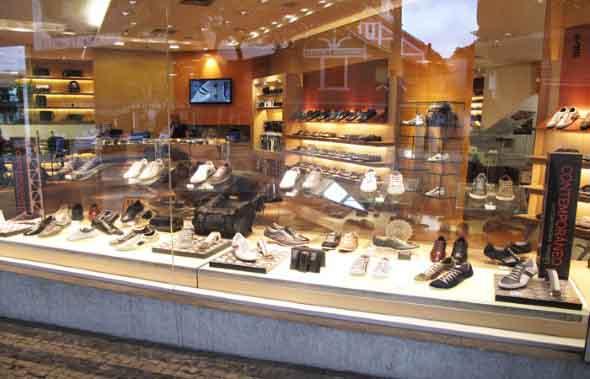 Como decorar loja de calçado 008