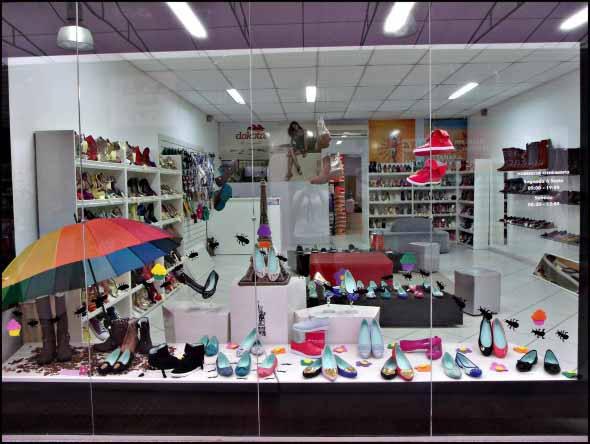 Como decorar loja de calçado 009