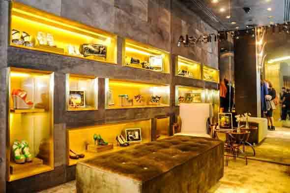 Como decorar loja de calçado 012