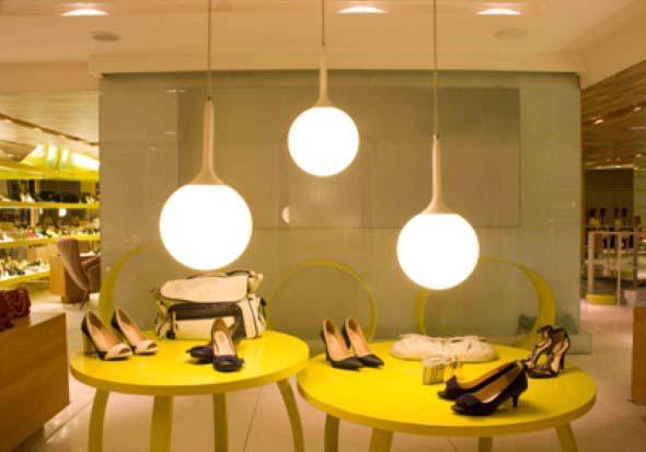 22 idéias para decorar loja de calçados -> Decoração De Outono Para Lojas
