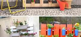 21 idéias de como usar paletes na decoração do jardim