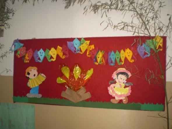 Decorar sala de aula para Festa Junina 013