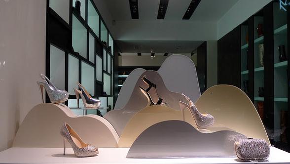 decorar lojas de sapatos