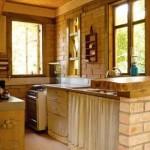 Decoração rústica na cozinha 009