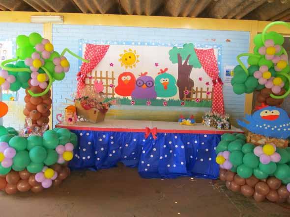 Decoração de festa para o Dia das Crianças 003