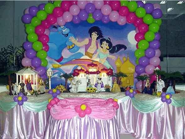 Decoração de festa para o Dia das Crianças 004