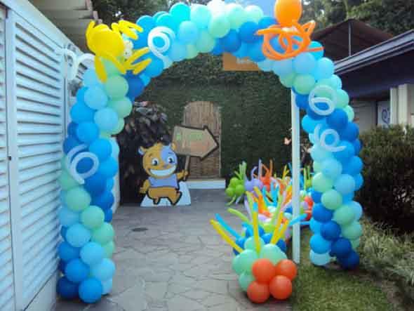 Decoração de festa para o Dia das Crianças 008