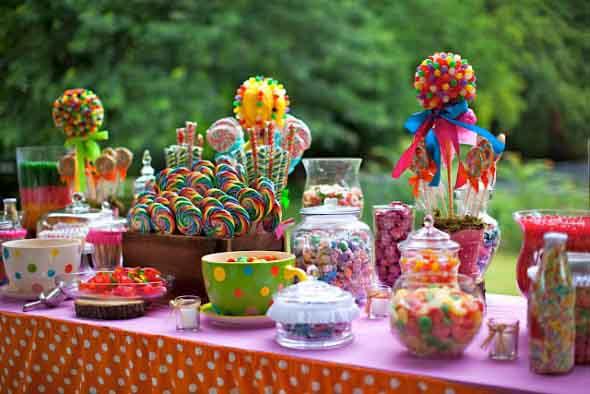 Decoração de festa para o Dia das Crianças 015