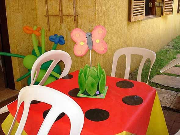 Decoração de festa para o Dia das Crianças 017
