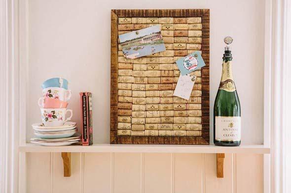 Usar rolhas de vinho na decoração 010