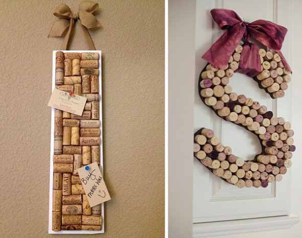 Usar rolhas de vinho na decoração 017