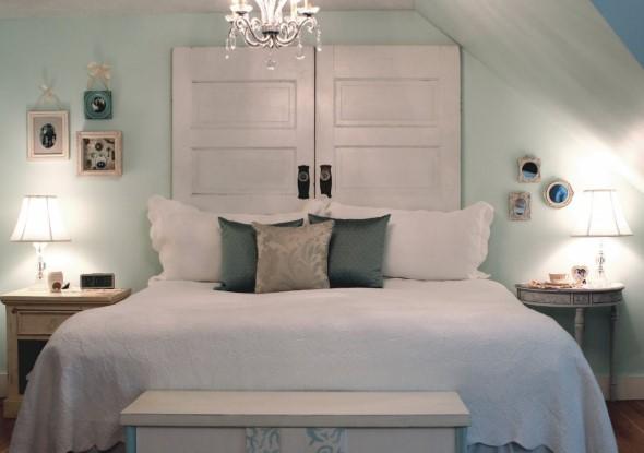 Cabeceira de cama funcional 015