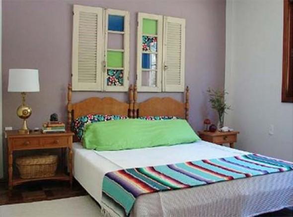 Cabeceira de cama funcional 016