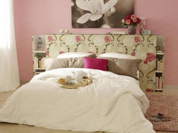 Cabeceira de cama funcional 018
