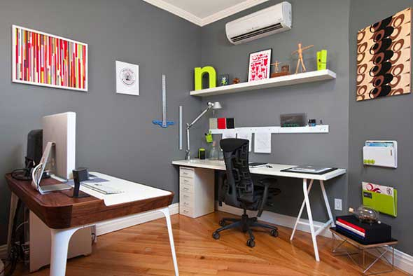 Decoração para Home Office 002