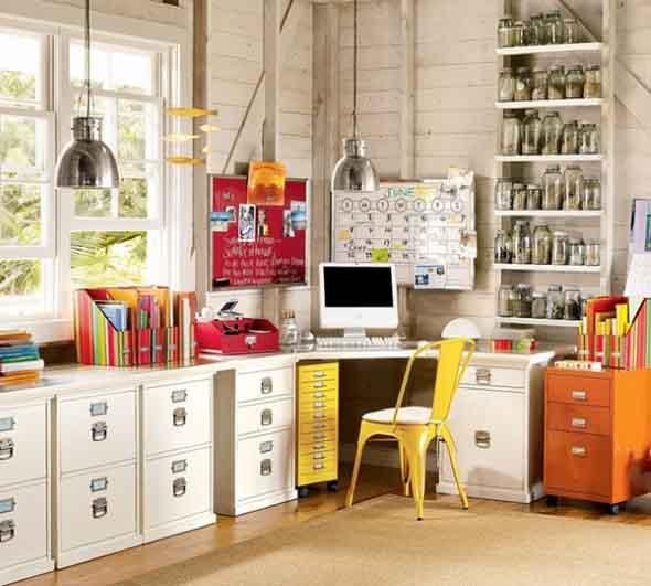 Decoração para Home Office 012