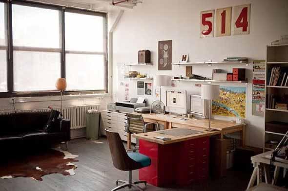 Decoração para Home Office 017