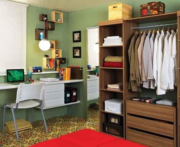Dividir o quarto para ter um closet 006