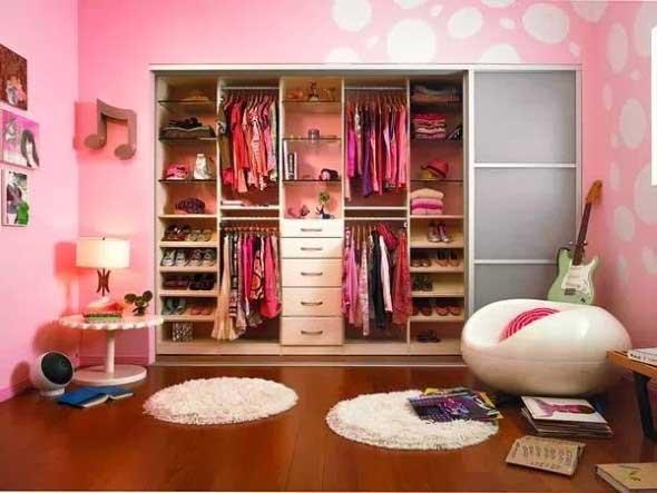 Dividir o quarto para ter um closet 007