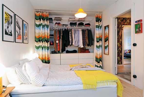 Dividir o quarto para ter um closet 012
