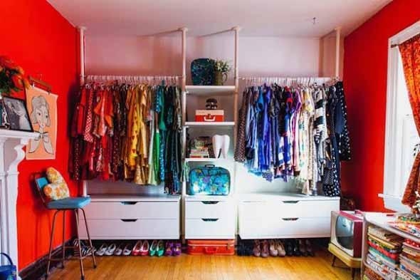 Dividir o quarto para ter um closet 013