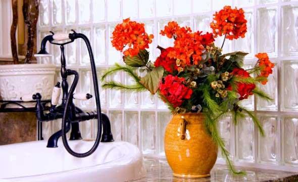 Organizando o banheiro com cachepôs 001