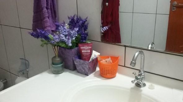 Organizando o banheiro com cachepôs 002