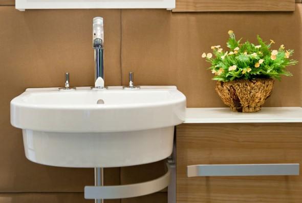 Organizando o banheiro com cachepôs 014
