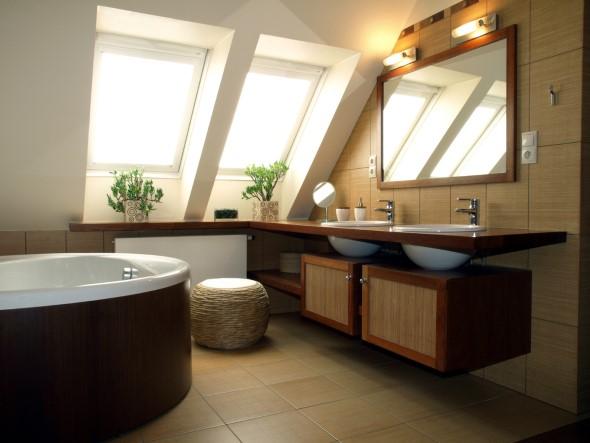 Organizando o banheiro com cachepôs 018