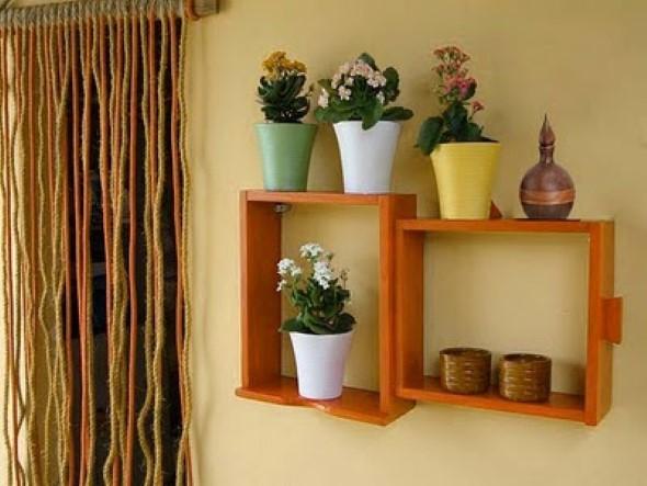 Usar gavetas como nichos decorativos 006