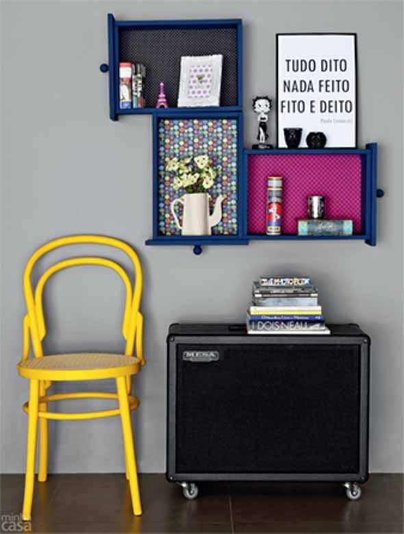 Usar gavetas como nichos decorativos 015